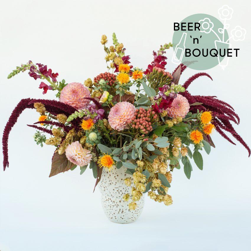 Floom The Fresh Flower Company Flowers Bouquet Autumn Vase Beer Dahlia Snapdragon 1