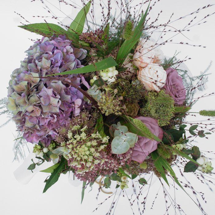 Floom September Flowers Purple Hydrangea 2