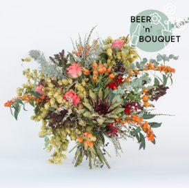 Floom The English Flowerhouse Flowers Bouquet Autumn Harvest Hops Rose 1