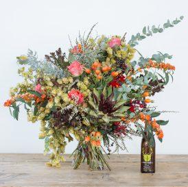 Floom The English Flowerhouse Flowers Bouquet Autumn Harvest Hops Rose 2