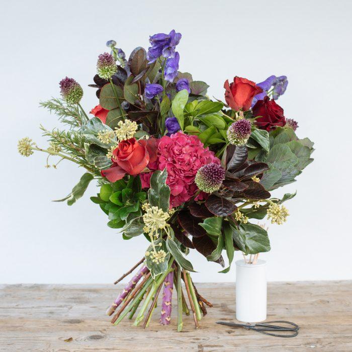 Floom The Fresh Flower Company Flowers Bouquet Autumn Jewels Rose Hydrangea 2