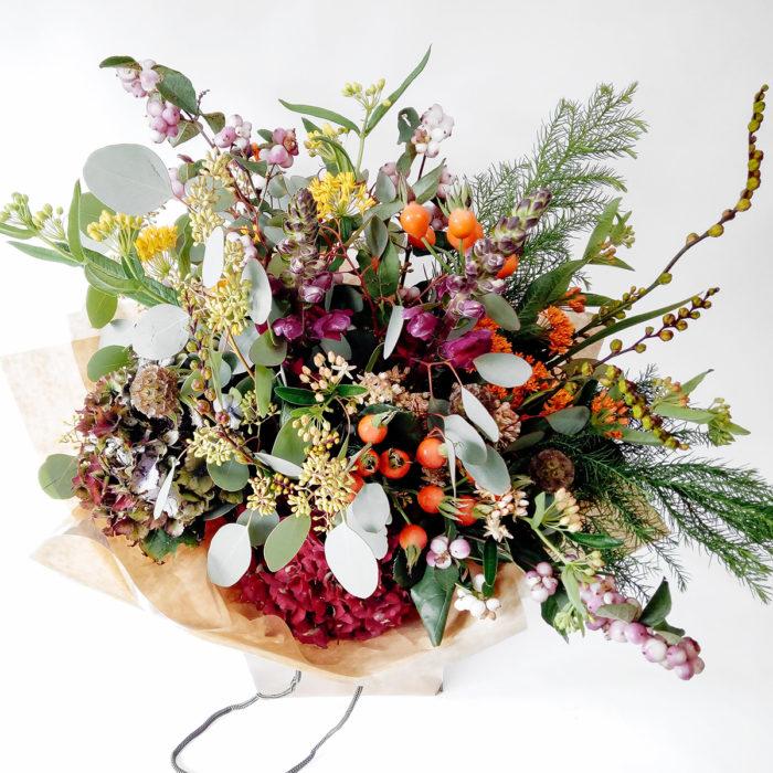 Floom Larkspur And Lavender Snapdragon Berries 2