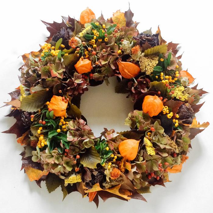 Floom Rose And Mary Autumn Wreath 1