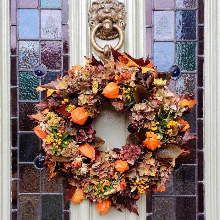 Floom Rose And Mary Autumn Wreath 2C