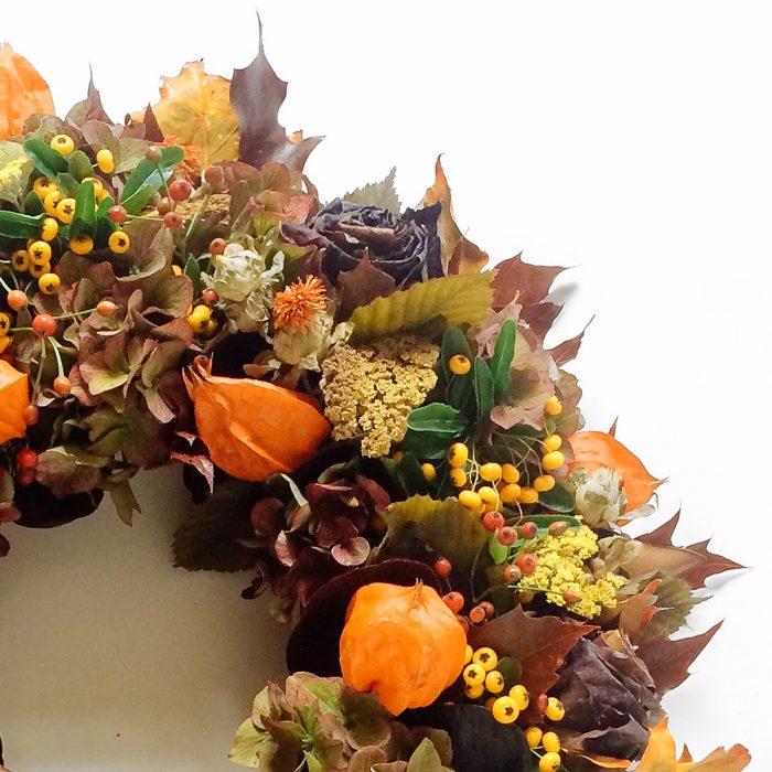 Floom Rose And Mary Autumn Wreath 3