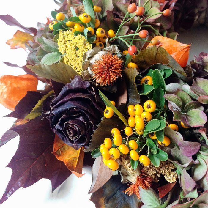 Floom Rose And Mary Autumn Wreath 4