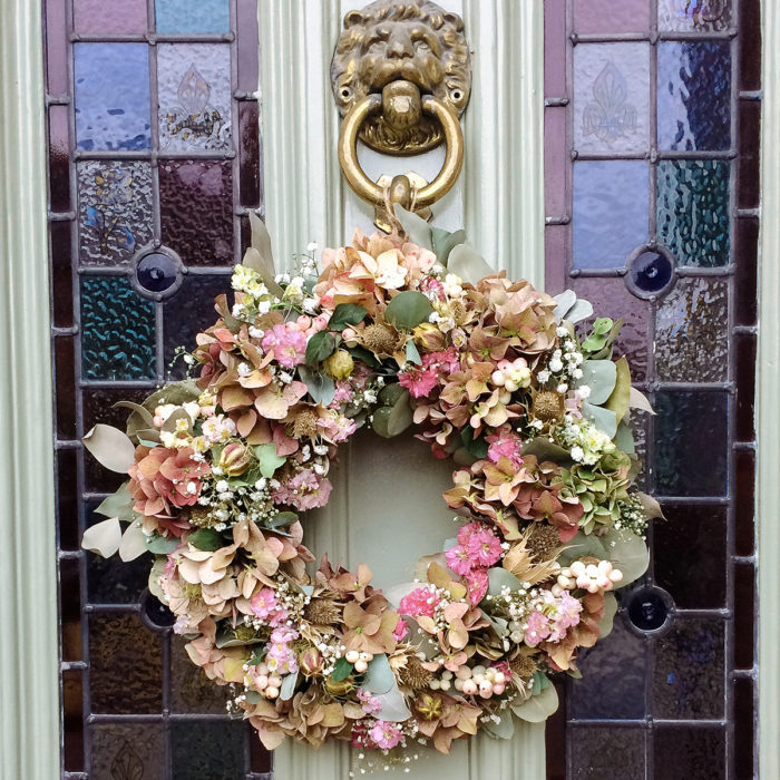 Floom Rose And Mary Autumn Wreath Berry 2