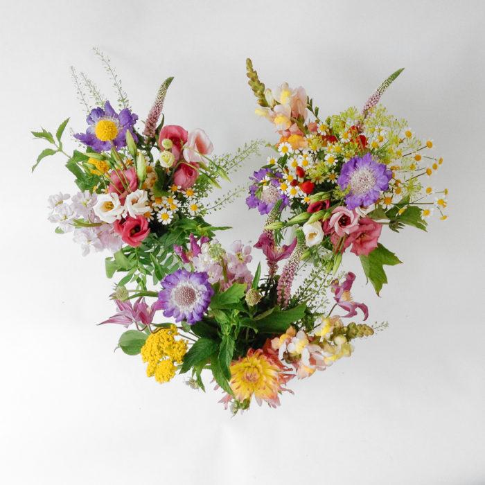 Floom Larkspur Lavendar Bright Posy Trio 2