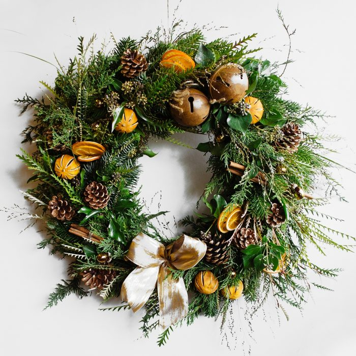 Floom Herbert Isles Christmas Wreath Orange 1