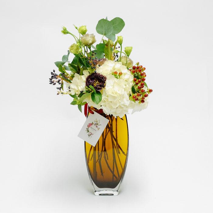 Floom Orchidiya Hydrangea Vase 1