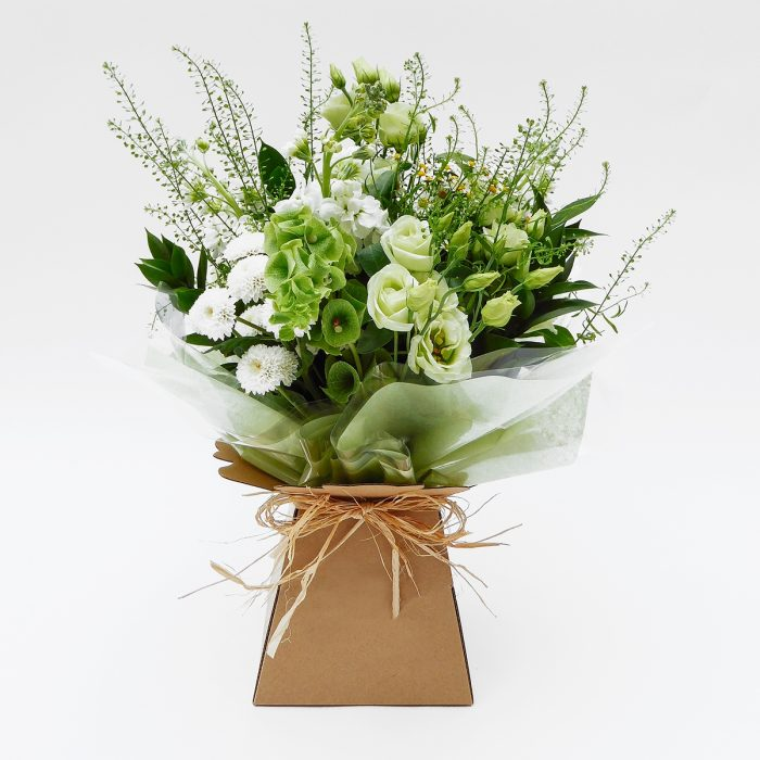 Floom Lady Penelope White Green Lisianthus 1