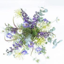 Floom The Fresh Flower Company Large Purples Flowers Bouquet Nigella Mint 2