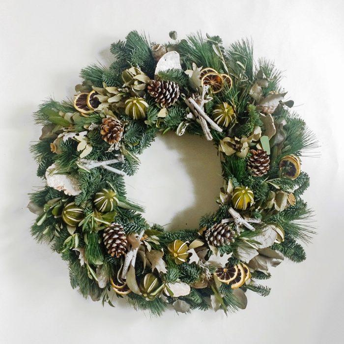 Floom Rose Mary Christmas Wreath 1