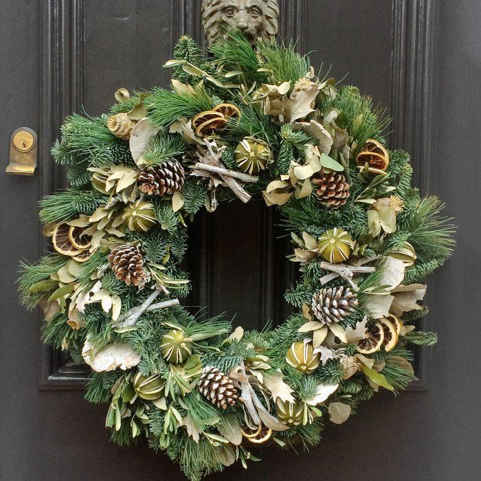 Floom Rose Mary Christmas Wreath 2