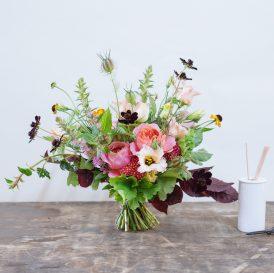 Floom That Flower Shop Bouquet Flowers Love On Top Lisianthus Nigella 1