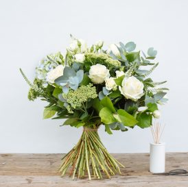 Floom The Fresh Flower Company Flowers Bouquet Massed Summer Whites Rose Hydrangea 1