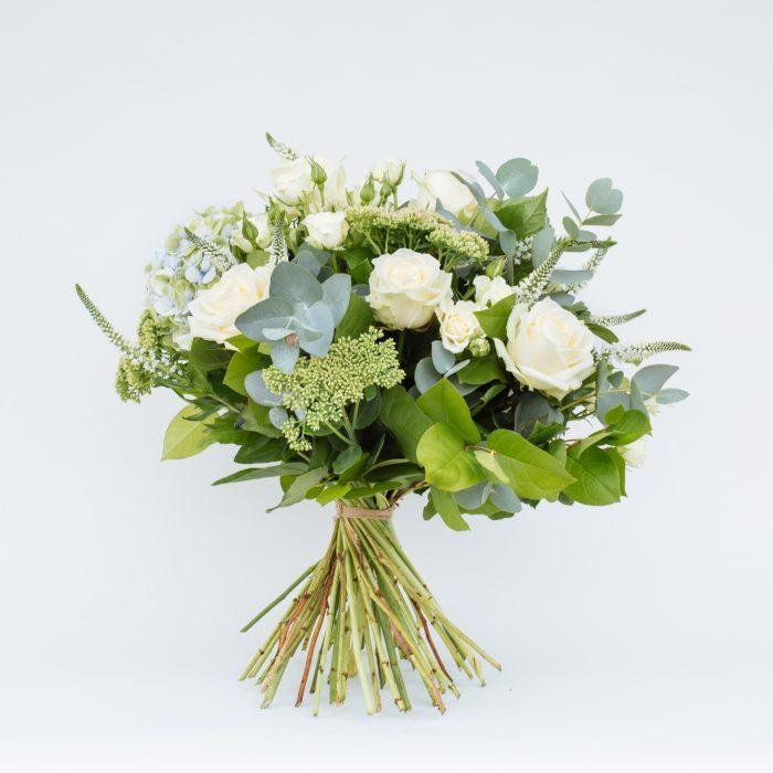 Floom The Fresh Flower Company Flowers Bouquet Massed Summer Whites Rose Hydrangea 4