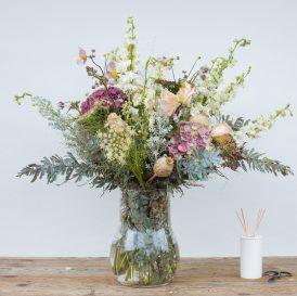 Floom The Fresh Flower Company Flowers Bouquet Muted Summer Vase Hydrangea 1