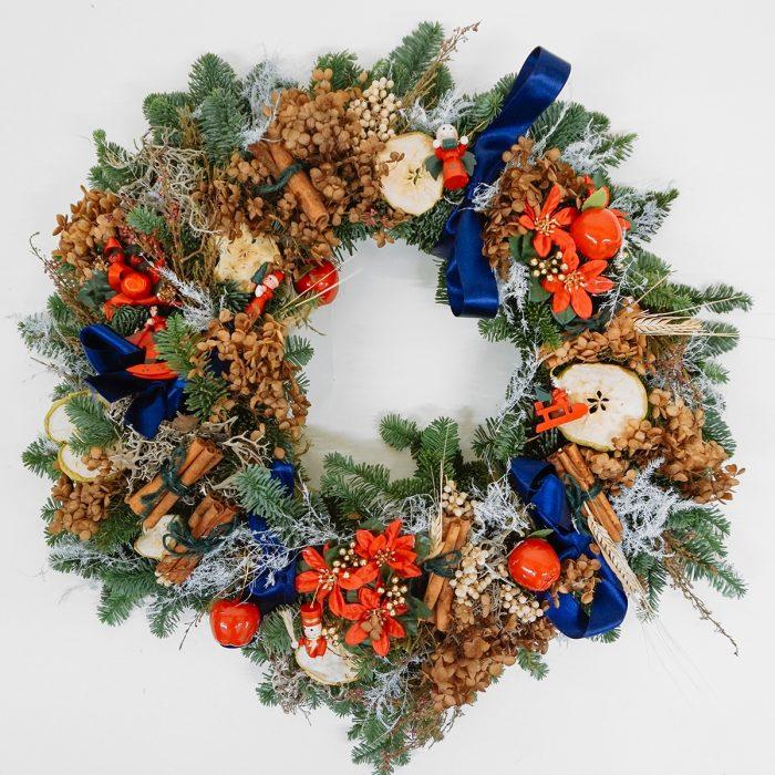 Floom Alice Mccabe Christmas Wreath Apple Toys 1