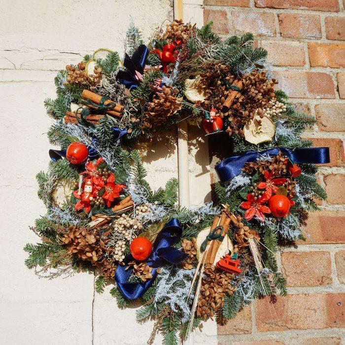 Floom Alice Mccabe Christmas Wreath Apple Toys 2