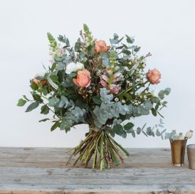 Floom Fresh Floer Co Bouquet Peach 2