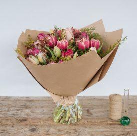 Floom Fresh Flower Co Pink Tulips 2