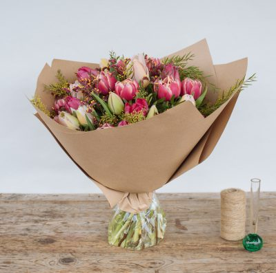 Floom Fresh Flower Co Pink Tulips 2