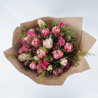 Floom Fresh Flower Co Pink Tulips 3