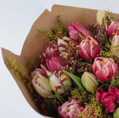 Floom Fresh Flower Co Pink Tulips 4