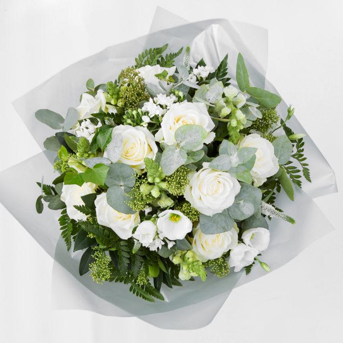 Floom Queens Park Florist Rose White Green 2