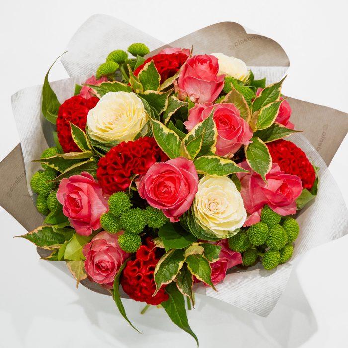 Floom Gardenia Rose Celosia 2