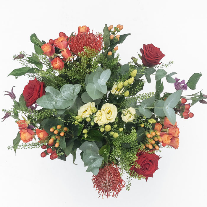 Floom All About Flowers Protea Red 2