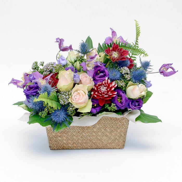 Floom Floys Flowers Basket Bouquet 1
