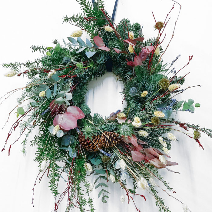 Floom Design By Nature Wreath Pine 1