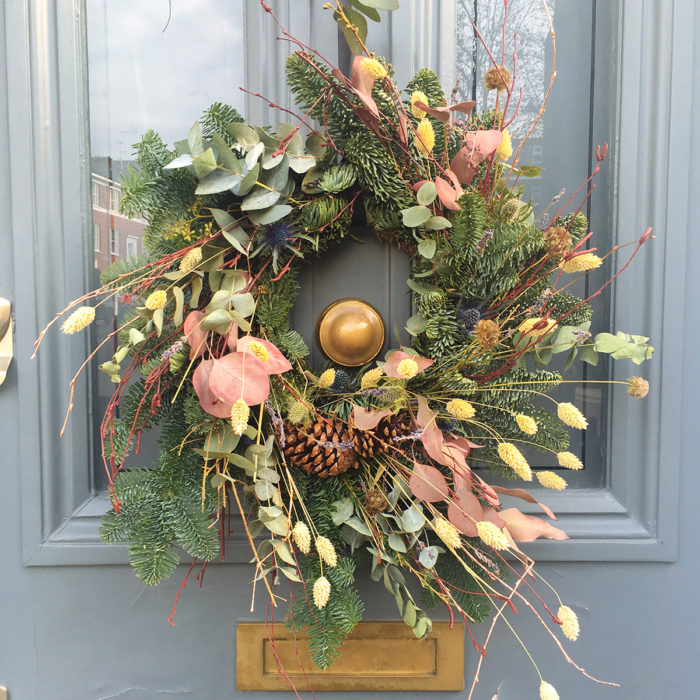 Floom Design By Nature Wreath Pine 2