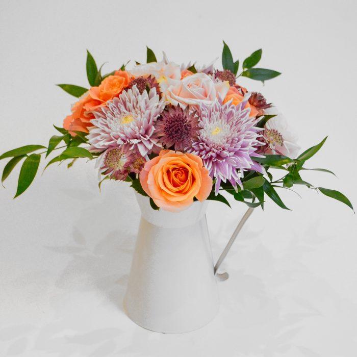 Floom The Flower Girl Chrysanthemum Rose Jug 1
