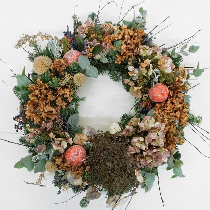 Floom Alice Mccabe Christmas Wreath Hydrangea 1