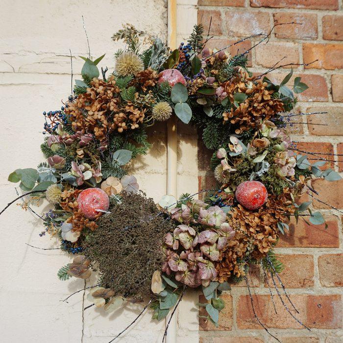 Floom Alice Mccabe Christmas Wreath Hydrangea 2
