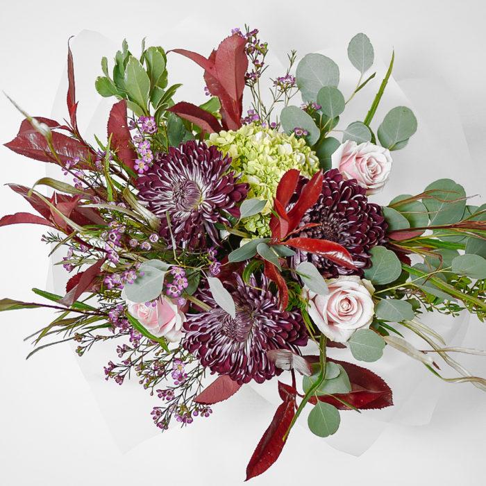 Floom Harleys Flowers Red Rose Hydrangea 2
