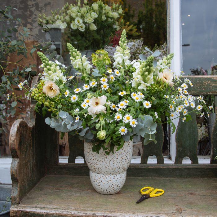 Floom Fresh Flower Co Speckled Vase 2