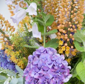 Floom The Fresh Flower Company Summer Vase Flowers Bouquet Hydrangea Campanula 3