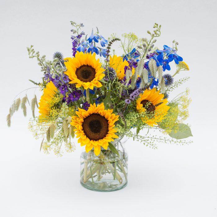 Floom Fresh Flower Co Sunflower Vase 1