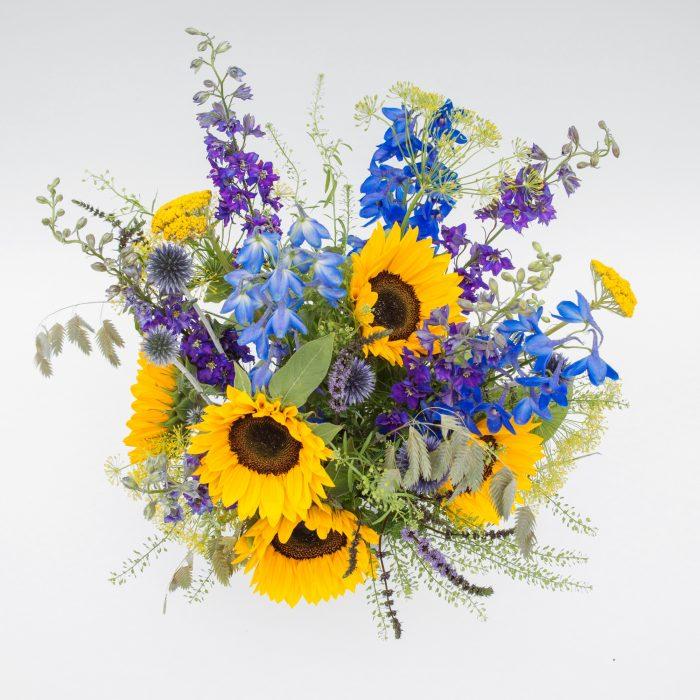 Floom Fresh Flower Co Sunflower Vase 2