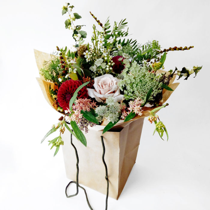 Floom Larkspur And Lavender Dahlia Rose 1