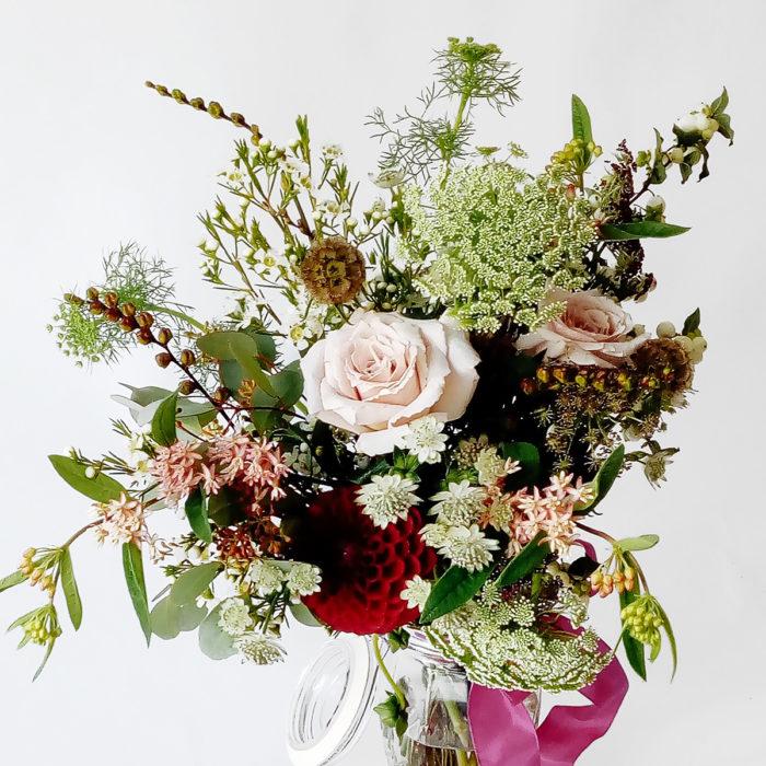Floom Larkspur And Lavender Dahlia Rose 2