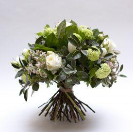 3 Floom Bloomsbury Flowers Bouquet White Green Hand Tie Flowers Rose Tulip 1