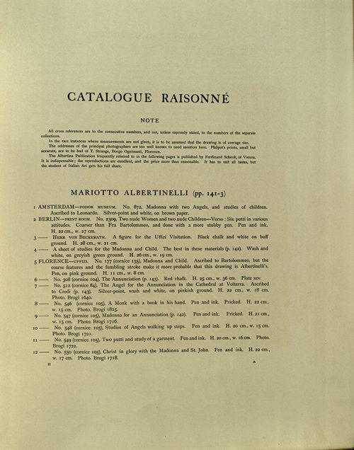 Berenson 1903 Edition