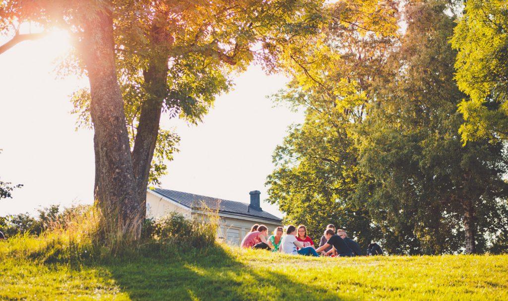 A picnic at Suomenlinna