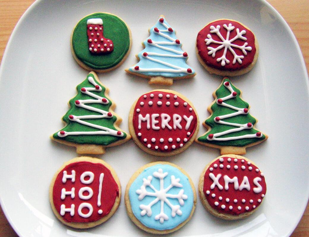 amerikanische weihnachtspl tzchen sugar cookies mit. Black Bedroom Furniture Sets. Home Design Ideas