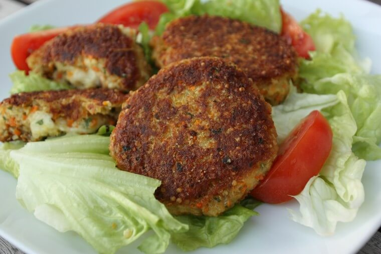 Quinoa Burger Rezept {flowers on my plate}